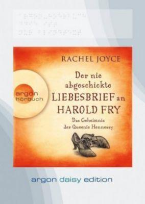 Der nie abgeschickte Liebesbrief an Harold Fry, 1 MP3-CD (DAISY Edition), Rachel Joyce