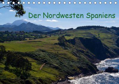 Der Nordwesten Spaniens (Tischkalender 2019 DIN A5 quer), Andreas Schön
