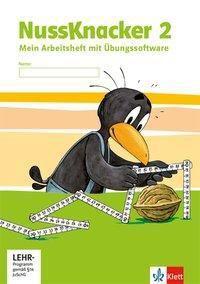 Der Nussknacker, Ausgabe Sachsen und Thüringen (2014): 2. Schuljahr, Arbeitsheft mit CD-ROM