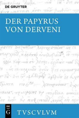Der Papyrus von Derveni, Mirjam E. Kotwick
