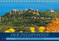 DER PELOPONNES (Tischkalender 2019 DIN A5 quer), Frauke Scholz