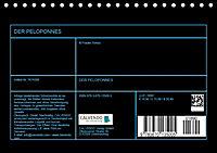 DER PELOPONNES (Tischkalender 2019 DIN A5 quer) - Produktdetailbild 13