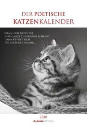 Der poetische Katzenkalender 2018