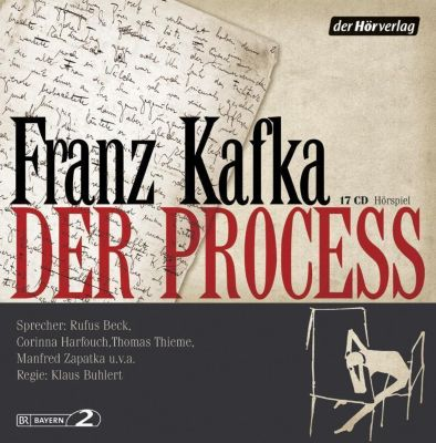 Der Process, 17 Audio-CDs, Franz Kafka