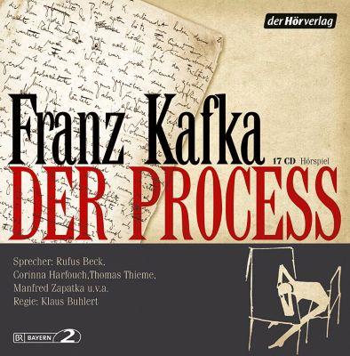 Der Process, 17 CDs, Franz Kafka