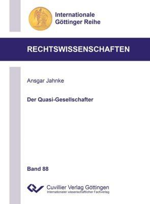 Der Quasi-Gesellschafter (Band 8 - Ansgar Jahnke |