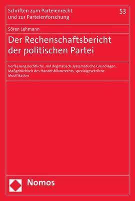 Der Rechenschaftsbericht der Politischen Parteien, Sören Lehmann