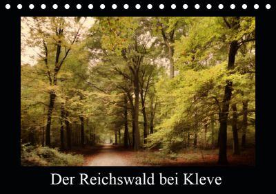 Der Reichswald bei Kleve (Tischkalender 2019 DIN A5 quer), Gudrun Nitzold-Briele