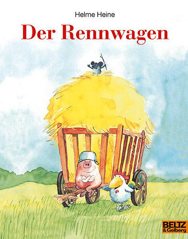 Der Rennwagen Buch Von Helme Heine Bei Weltbildde Bestellen
