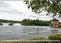 Der Rheinfall - Ein Spaziergang um das gigantische Naturschauspiel (Wandkalender 2019 DIN A2 quer) - Produktdetailbild 1