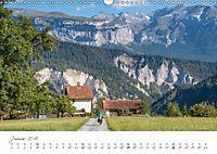 Der Rheinradweg - Von den Alpen bis zur NordseeCH-Version (Wandkalender 2019 DIN A3 quer) - Produktdetailbild 1