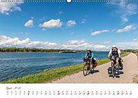 Der Rheinradweg - Von den Alpen bis zur NordseeCH-Version (Wandkalender 2019 DIN A2 quer) - Produktdetailbild 4