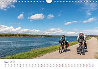 Der Rheinradweg - Von den Alpen bis zur NordseeCH-Version (Wandkalender 2019 DIN A4 quer) - Produktdetailbild 4