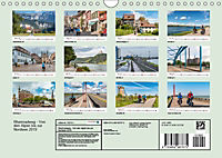 Der Rheinradweg - Von den Alpen bis zur NordseeCH-Version (Wandkalender 2019 DIN A4 quer) - Produktdetailbild 13