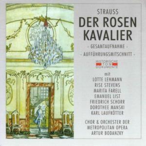 Der Rosenkavalier (Ga), Chor & Orch.Der Metropolitan Opera