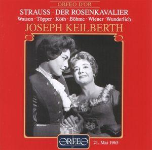 Der Rosenkavalier (Ga), Watson, Töpper, Köth, Keilberth, Bsom