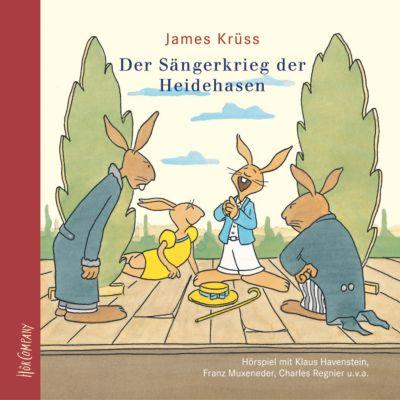 Der Sängerkrieg der Heidehasen, 1 Audio-CD, James Krüss