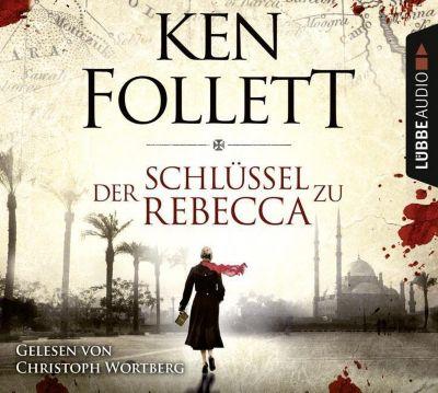 Der Schlüssel zu Rebecca, 4 Audio-CDs - Ken Follett |