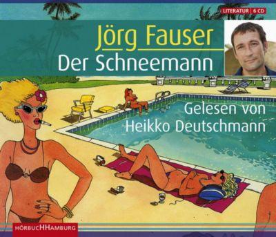 Der Schneemann, Sonderausgabe, 6 Audio-CDs, Jörg Fauser