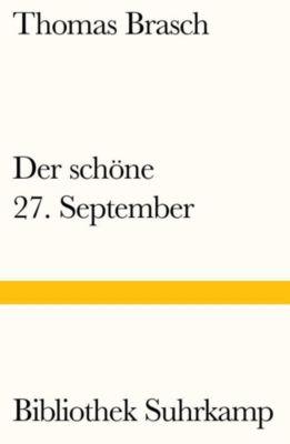 Der schöne 27. September - Thomas Brasch pdf epub