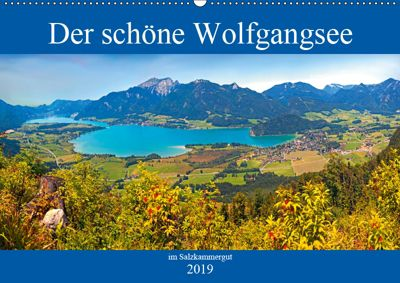 Der schöne Wolfgangsee im Salzkammergut (Wandkalender 2019 DIN A2 quer), Christa Kramer