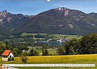 Der schöne Wolfgangsee im Salzkammergut (Wandkalender 2019 DIN A2 quer) - Produktdetailbild 3