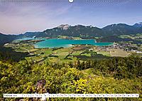 Der schöne Wolfgangsee im Salzkammergut (Wandkalender 2019 DIN A2 quer) - Produktdetailbild 2