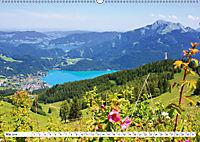 Der schöne Wolfgangsee im Salzkammergut (Wandkalender 2019 DIN A2 quer) - Produktdetailbild 5