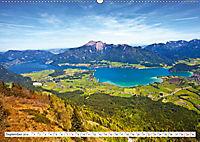 Der schöne Wolfgangsee im Salzkammergut (Wandkalender 2019 DIN A2 quer) - Produktdetailbild 9