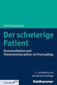 Der schwierige Patient - Gert Kowarowsky pdf epub