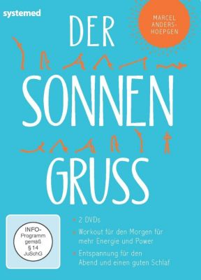 Der Sonnengruß, 2 DVDs, Brahmadev Marcel Anders-Hoepgen
