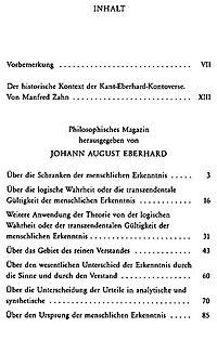 Der Streit mit Johann August Eberhard - Produktdetailbild 3