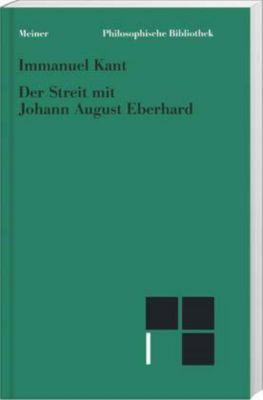 Der Streit mit Johann August Eberhard, Immanuel Kant