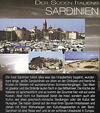 Der Süden Italiens Sardinien, DVD - Produktdetailbild 1