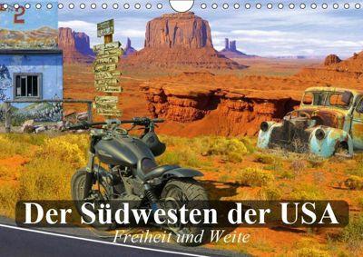 Der Südwesten der USA. Freiheit und Weite (Wandkalender 2019 DIN A4 quer), Elisabeth Stanzer