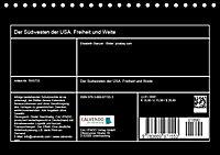Der Südwesten der USA. Freiheit und Weite (Tischkalender 2019 DIN A5 quer) - Produktdetailbild 13