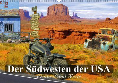 Der Südwesten der USA. Freiheit und Weite (Wandkalender 2019 DIN A2 quer), Elisabeth Stanzer