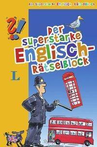 Der superstarke Englisch-Rätselblock - Abreißblock