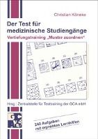 Der Test für medizinische Studiengänge. Vertiefungstraining ' Muster zuordnen', Christian Köneke