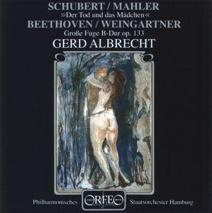 Der Tod Und Das Mädchen/Grosse Fuge B-Dur Op.133, Albrecht, Hp