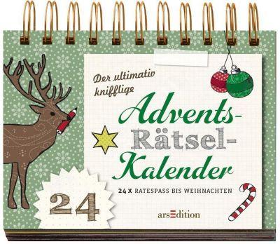 Der ultimativ knifflige Rätsel-Advents-Kalender, Norbert Golluch