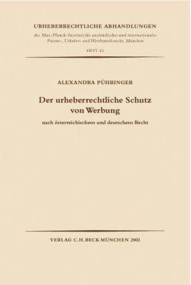 Der urheberrechtliche Schutz von Werbung, Alexandra Pühringer