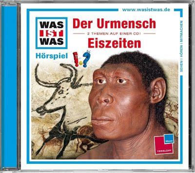 Der Urmensch / Eiszeiten, 1 Audio-CD, Matthias Falk, Kurt Haderer