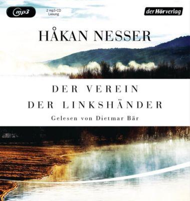 Der Verein der Linkshänder, 1 MP3-CD - Hakan Nesser  