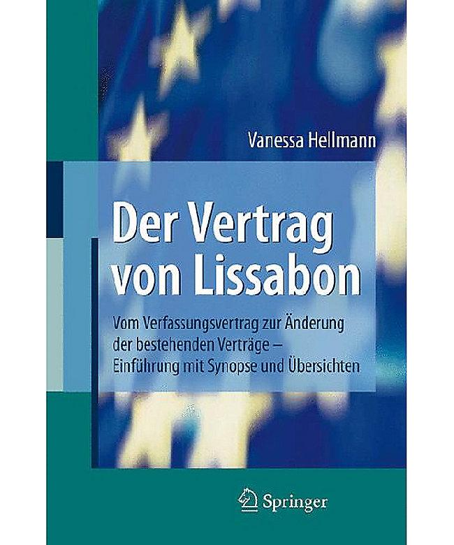 Der Vertrag Von Lissabon Buch Portofrei Bei Weltbildde Bestellen