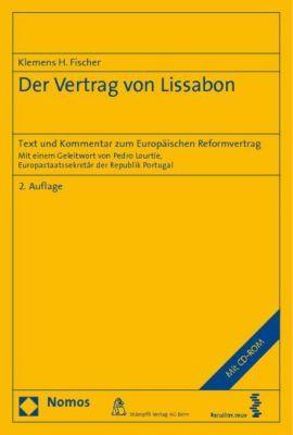 Der Vertrag von Lissabon, m. CD-ROM, Klemens H. Fischer