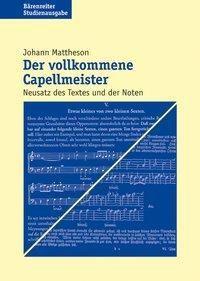 Der vollkommene Capellmeister, Johann Mattheson