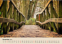 Der Wald. Durch zauberhafte Waldlandschaften (Wandkalender 2019 DIN A2 quer) - Produktdetailbild 11