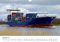 Der Weg ist das Ziel 2019. Ein Kalender für Spedition und Logistik (Wandkalender 2019 DIN A4 quer) - Produktdetailbild 1
