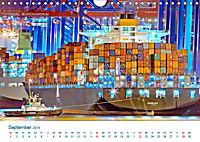 Der Weg ist das Ziel 2019. Ein Kalender für Spedition und Logistik (Wandkalender 2019 DIN A4 quer) - Produktdetailbild 9